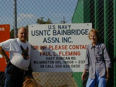 USNTC Bainbridge Photos courtesy of Frederick A. Larson and Edith M. Larson