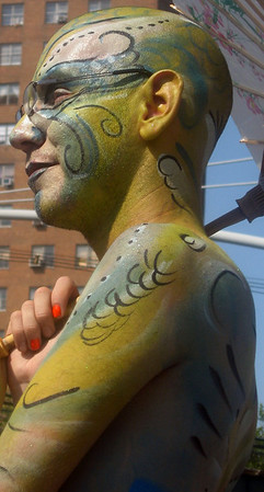 Faces of Mermaid Parade 2008, Coney Island