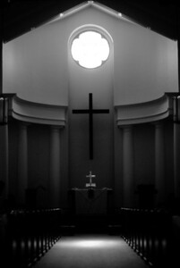 Interior of Chapel after construction completed December 2008  Photo By Geoff Blumber
