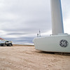 Fagen Construction installs wind turbines near Hagerman Idaho - GE General Electric
