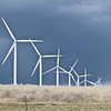 Turbines are Suzlon, in the area of Hagerman Idaho near Tuana.