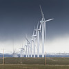 Turbines are Suzlon, in the area of Hagerman Idaho near Tuana.