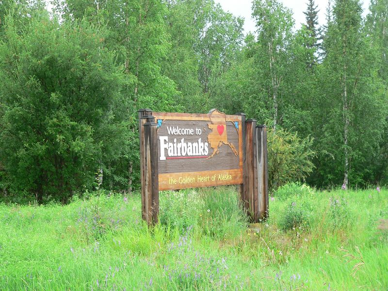 Fairbanks, Alaska - Alaska's second largest city in terms of population.  That must mean there are a lot of people in Fairbanks.  Well, currently Merrimack, NH with a 2005 population of approx. 32,000 has more people than the 30,224 population of Fairbanks during the 2000 Census.