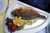 Tulln, Oesterreich - Fischgericht - Fisch - Speise - Teller - Essen - Zitrone