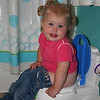 Abby is getting potty trained