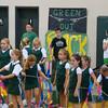 Ribbon Squad at the Homecoming Pep Rally