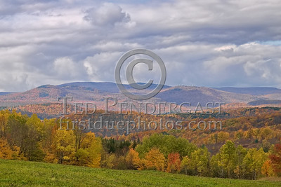 Wilmington,VT - Valley Viewed From Whites Road