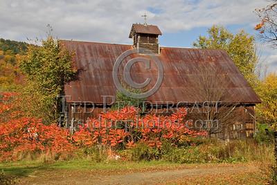 Marlboro,VT - Auger Hill Road - Barn