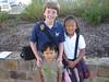 First day of 6th grade and 1st grade, Dillon starts next week at PreK