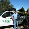 Larry's new job - delivering materials for Culligan