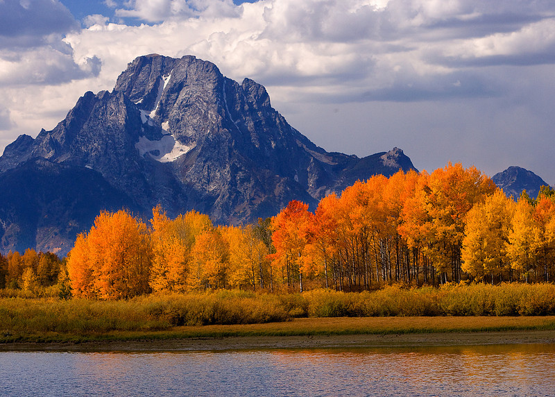 Mt. Moran in the Fall - Teton National Park