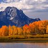 Mt. Moran in the Fall - Teton National Park