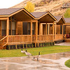 Our cabins we staying in.