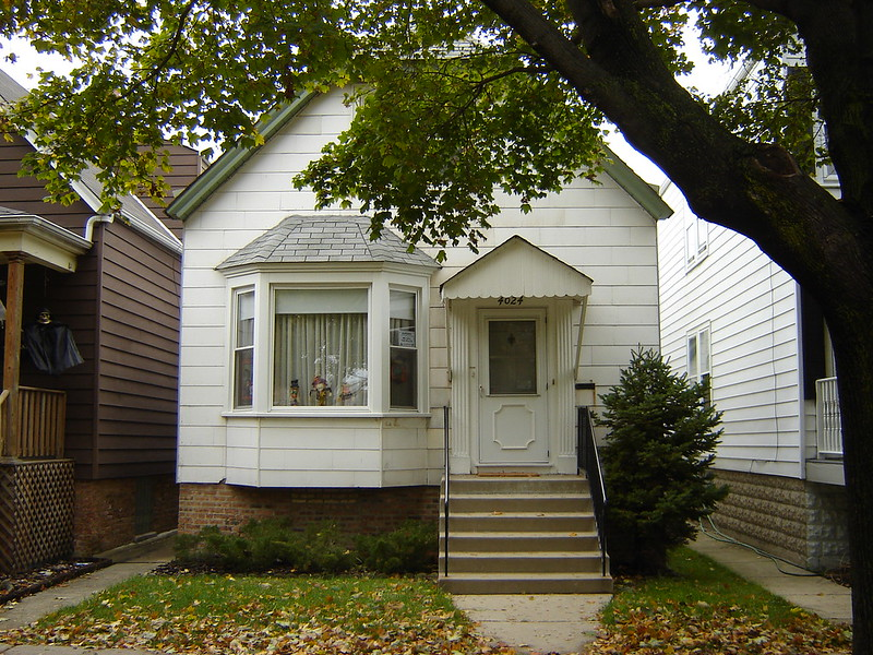 4024 N. Campbell Ave. in Chicago. I was Born there 68 years ago this coming December 2. The House and the neighborhood have not changed at all.