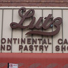 Had to stop at Lutz's Bakery at Campbell Ave. and Montrose Ave. in Chicago. Kay was impressed!