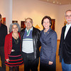 Pictured at the CVA Gallery,now showing an exhibit of works by our Art & Design Department faculty members, are Photography Adjunct Mark Schoon, Photography Professor Geanna Merola, Geanna's Dad, Acting President McMenamin, and Photography Professor Stuart Thomas.