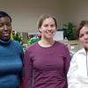 Giving Tree elves: Shovondra Gooding, Megan Johnson, and Helen Vota.