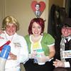 Lauren Brutsman, Jill Donovan, Chris Jeune chaperoning the Student Life Halloween Party.