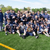 Brookdale Men's Lacrosse won its first ever NJCAA Region XIX Championship with a 10-9 victory over the top seeded County College of Morris on April  27.  The second-ranked Jersey Blues, who improved to 9-5 on the season, took full advantage of their second Region XIX title game appearance in the squad's second year of existence.  On Saturday, May 1, the men lost to Nassau in the District 2 Championship game, concluding their second season.