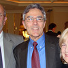 Richard and Sally Sorrell are snapped with Steve Curto at the President's Ball on Saturday, May 8.