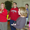 Terry Konn and Susan Rosenberg run the Holiday Chance Auction on December 3.