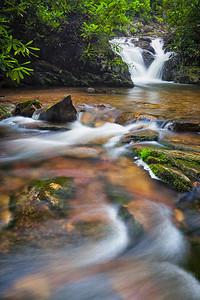 Cascade below Red Fork Falls