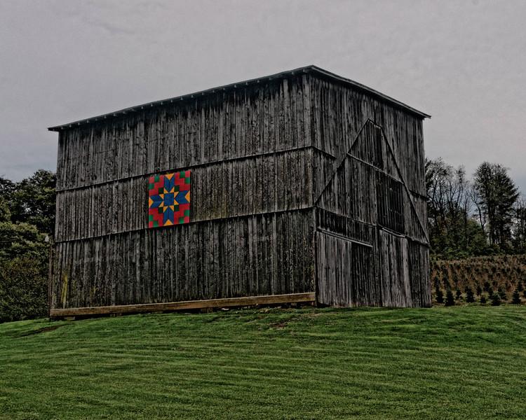 Barn near Lansing