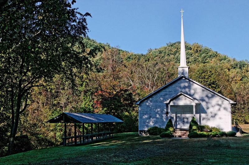 John's River Missionary Baptist Church, established 1884, Globe Road
