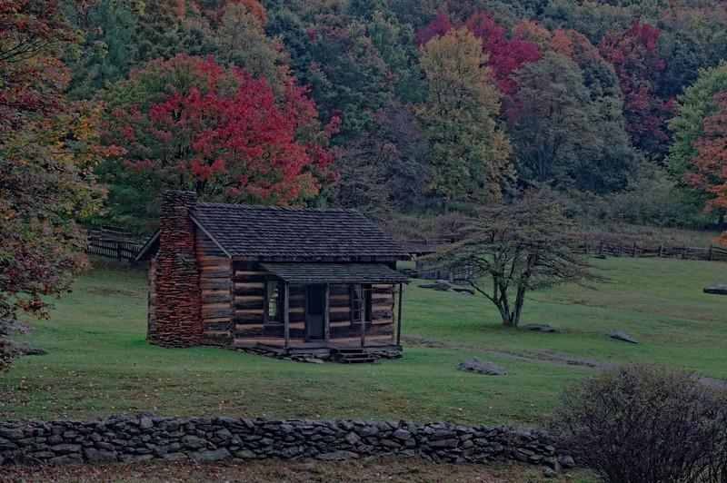 Old Cabin, Grayson Highlands State Park