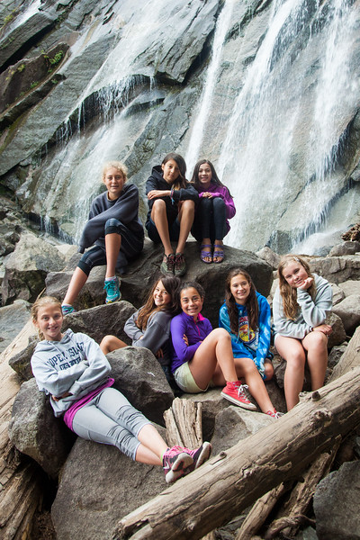 Montlake Dads-Daughters weekend in Big Bend, near Gold Bar, on the Skykomish River, August 26-28, 2016. Photo by Dan DeLong