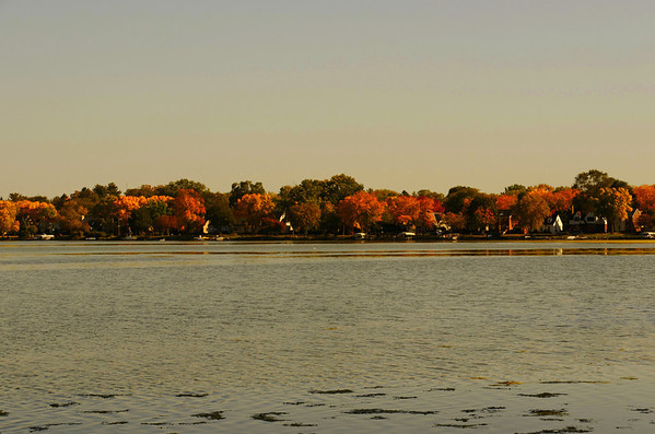 Across Monona Bay, Madison, W