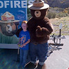 Caiden & Smokey Bear