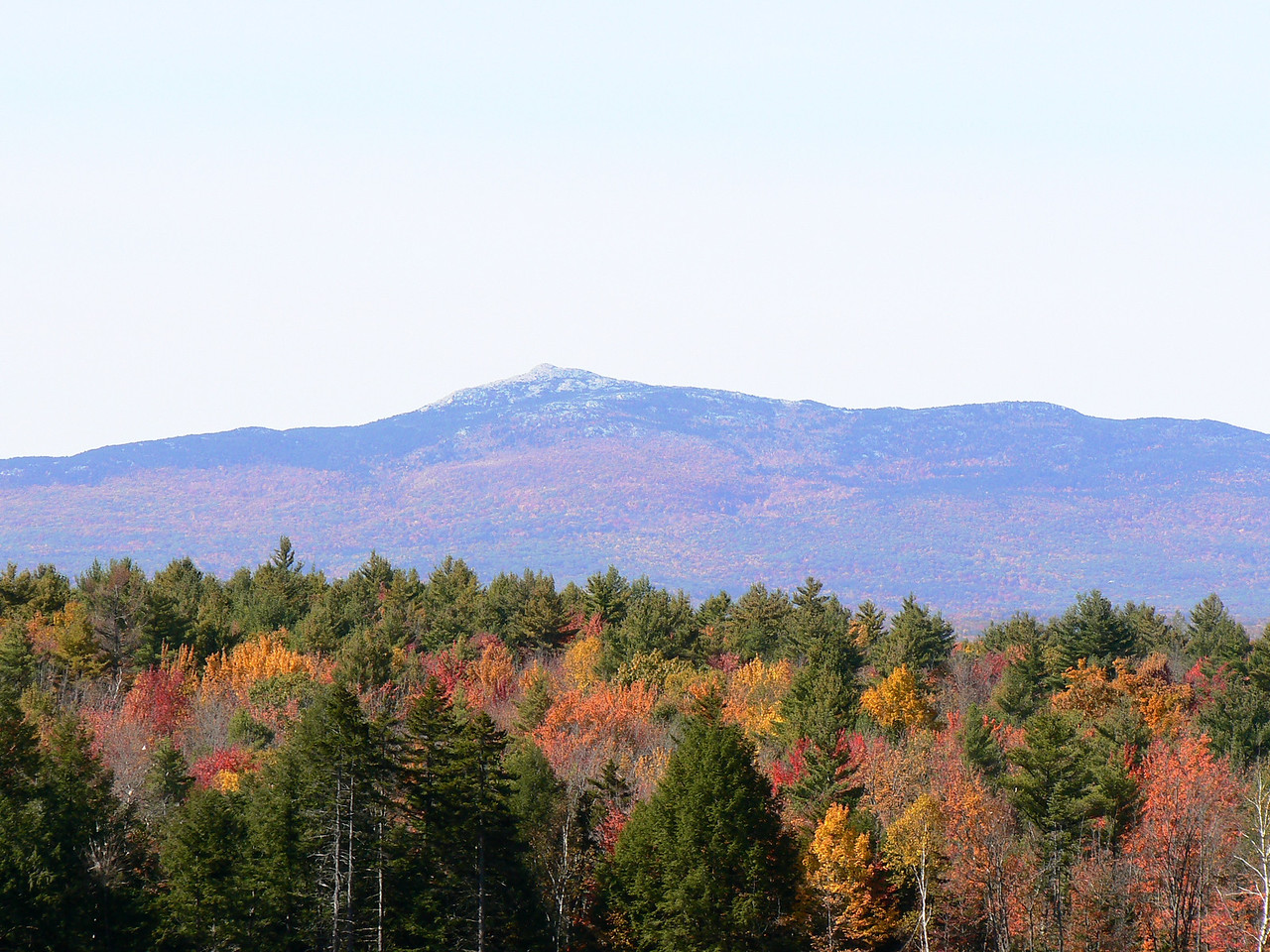 Mt Monadnock-2nd most climbed mountain in the world.