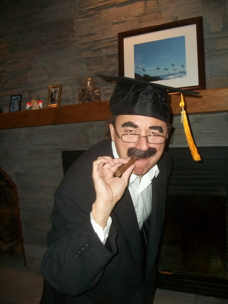 We went to a Halloween Party the other night...Grampie went as Groucho Marx!! So funny...