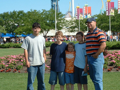 Ayers Family  Brennan, Hunter, Cole, Cannon, Troy.