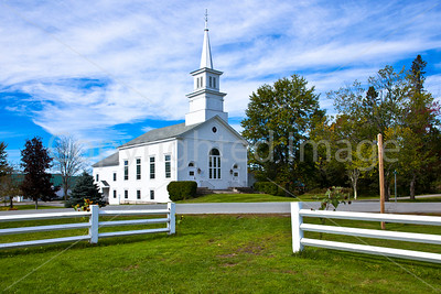 Church at Craftsbury Common, Vermont