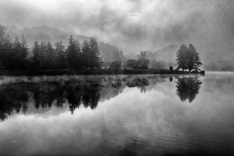Foggy Morning on Lake Junaluska II