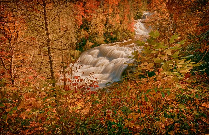 Triple Falls, Stone Mountain State Park