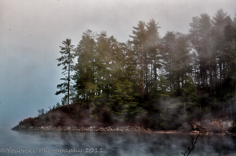 Keowee River Fog