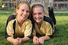 Anastasia and Katie after their last regular season softball game.