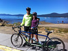 Taken half way through our ride around Tahoe on our new Co-Motion tandem.  We had a great ride and made the 72 miles without problem.  :)
