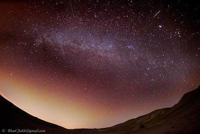 Shooting Stars near Mecada