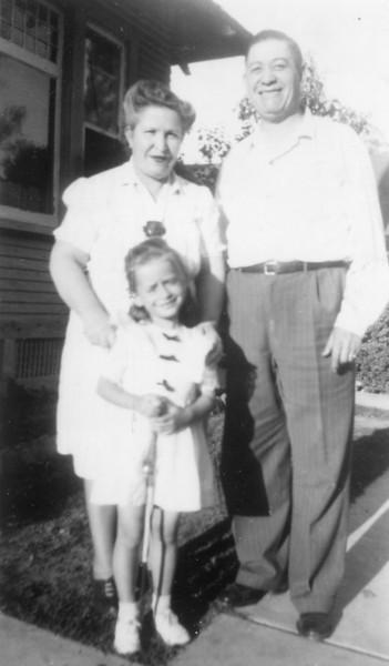 Ed's Grandma & Grandpa Sanchez