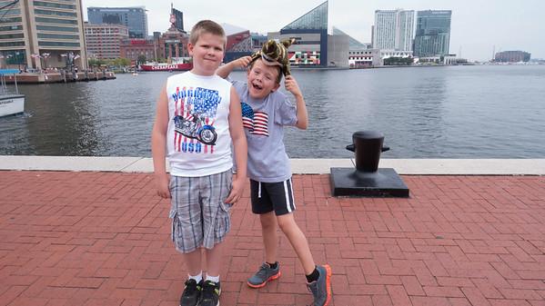 Baltimore Inner Harbor 2014