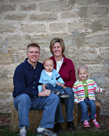 J Olson & family 08