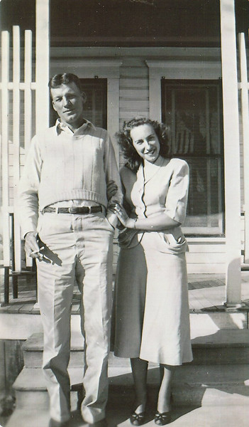 Marshall & Jean Ellis - 1950