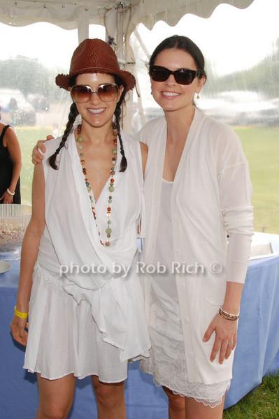 Haley Binn and Katie Lee Joel<br /> photo by Rob Rich © 2009 robwayne1@aol.com 516-676-3939