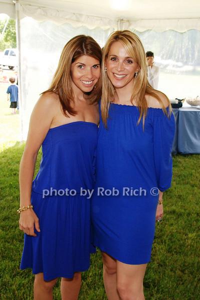 Samantha Ettus and Alison Brod<br /> photo by Rob Rich © 2009 robwayne1@aol.com 516-676-3939