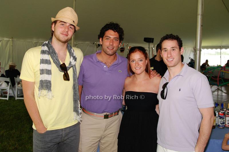Mark Mullett, Keith Bloomfield, Cara Weisberger and Seth Goldberg<br /> photo by Rob Rich © 2009 robwayne1@aol.com 516-676-3939