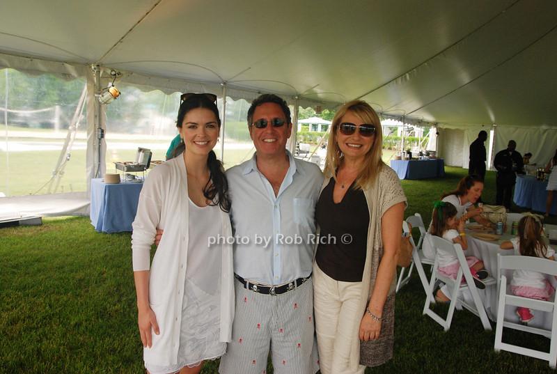 Katie Lee Joel, Andrew Farkas and Debra Halpert<br /> photo by Rob Rich © 2009 robwayne1@aol.com 516-676-3939